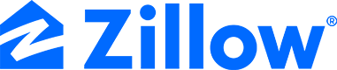 Zillow Wordmark Blue